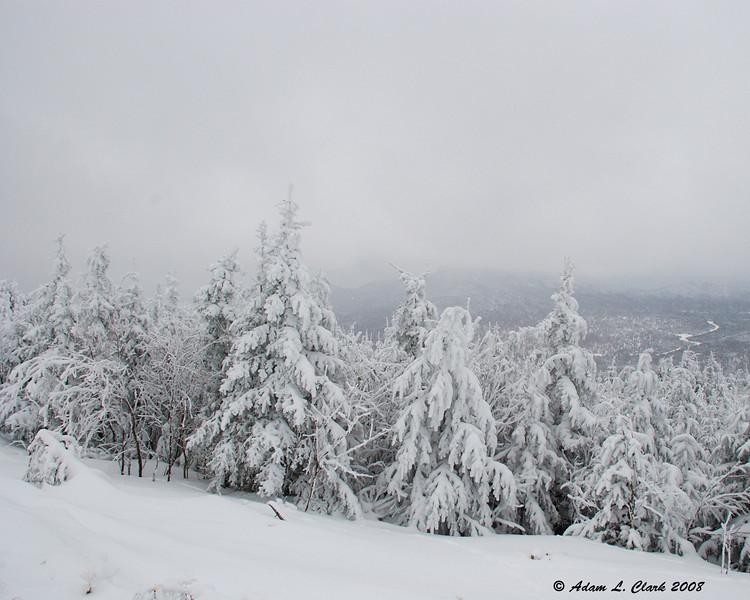 View from Diamond Ridge<br /> 2/9/08