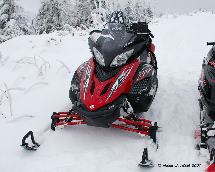 The snowmobile I have been riding this year.  It's my brother's<br /> 2/9/08