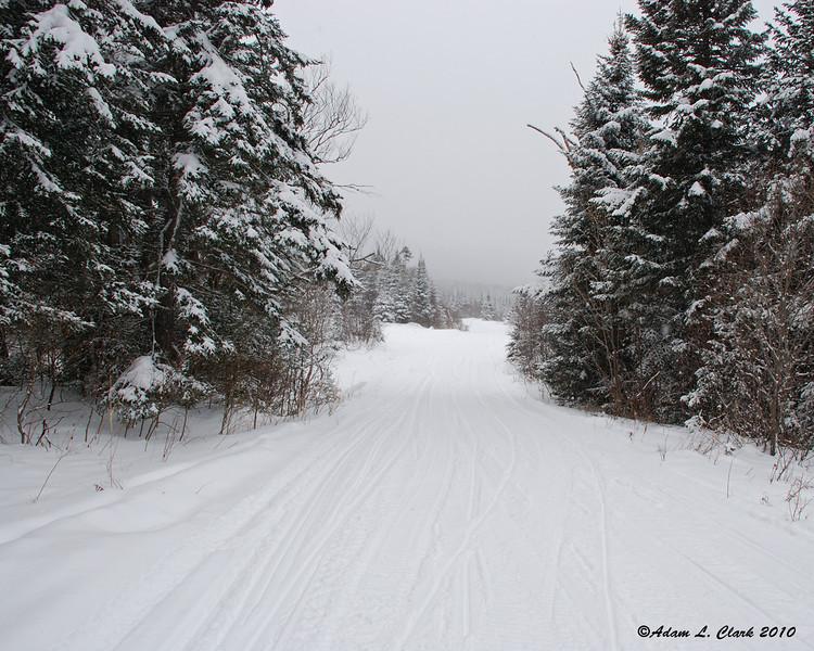 Maine and New Hampshire border (towards New Hampshire)