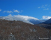 Mt. Lafayette from the recreation path on the Northern end of Franconia Notch State Park