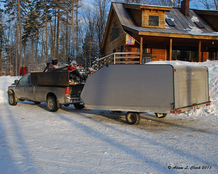 The haul rig to get 4 sleds up North to ride