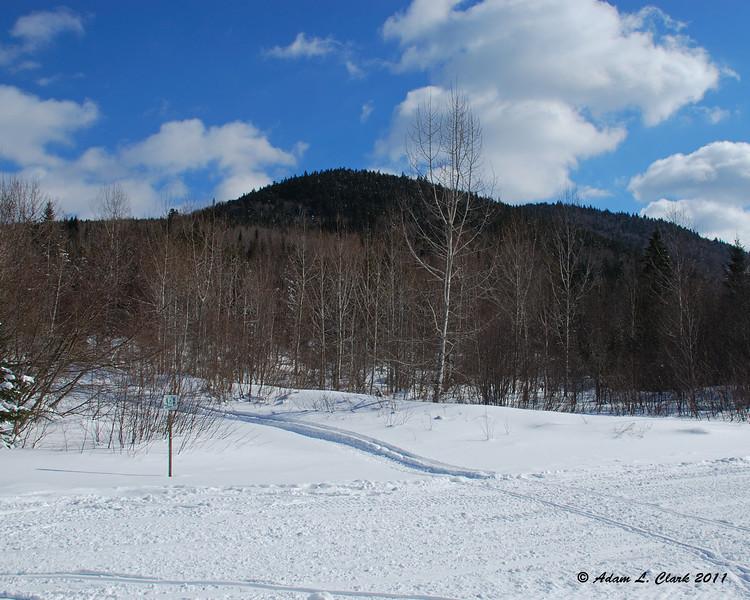 A hill near the trail