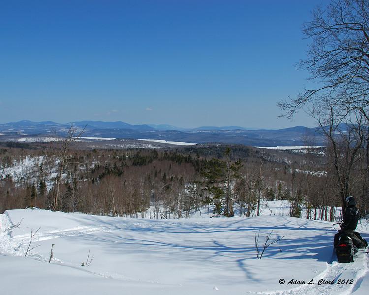 Enjoying to view to Maine