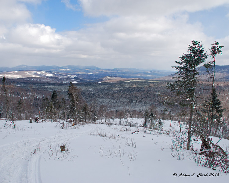 View East towards Maine