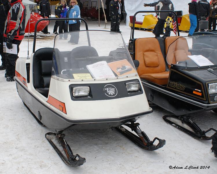 2 old Ski-Doo Elites