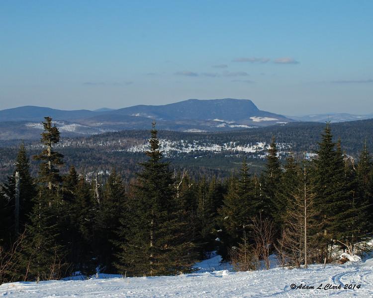 Stub Hill on the Maine/New Hampshire border