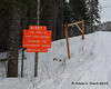 "A sign alerting ATVs in the summer about how steep the trail is.  For a video of me riding my ATV up that side of the mountain, <a href=""https://www.youtube.com/watch?v=He1cqaHV3lQ"" target=""_blank"">click here (YouTube)</a>"