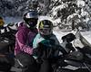 Melissa and Liliana ready to ride