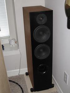 The Selah Audio Texas Revelator Tower 2.5-way, using Scan Speak Revelator drivers.