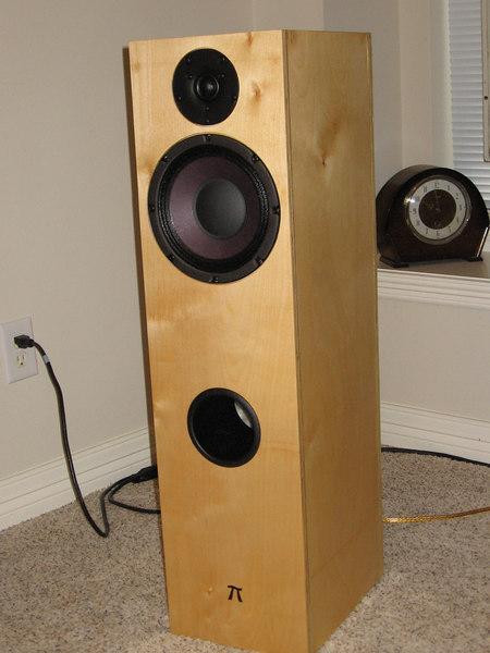 Built for Russ - Studio One Pi in a 1.3 cu ft baltic birch tower enclosure.