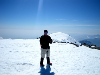 Spring Practice #1: Snow Climb to Mt Baldy April 10, 2010