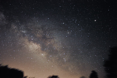 Milky Way in July 2016