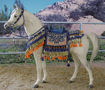 Trad. scale Native style Arabian costume by Terry Wright of Priam Costumes