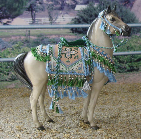 small Classic scale Showring/Hollywood Style Arabian costume by Lisa Pisano Haley