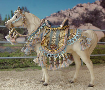 SM scale Showring/Hollywood style Arabian costume by Abby Marston of Marston Art