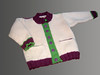 Wool sweater given to Friends of Ruwenzori auction, fall 2008