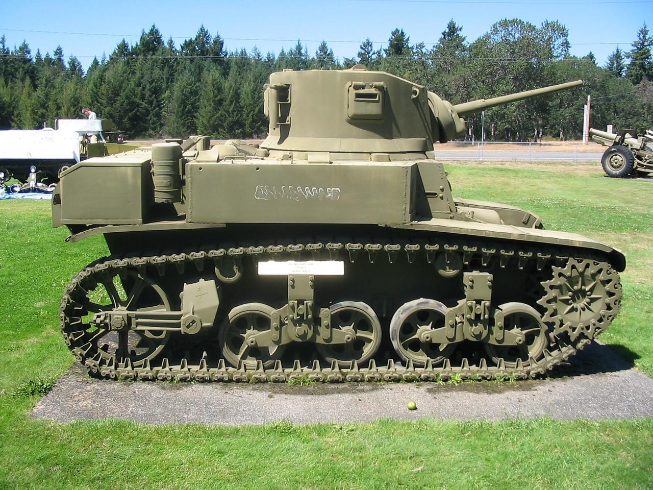 M3A1 STUART<br /> FORT LEWIS
