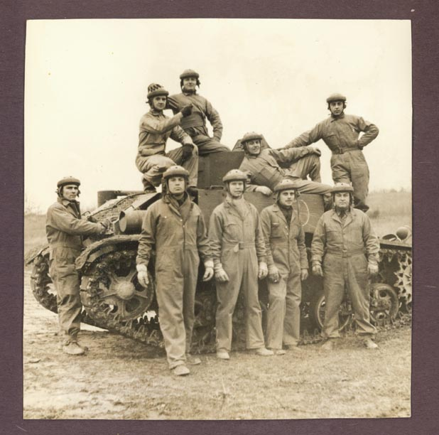 photograph taken at the Armored Force school in Fort Knox from November 1940 through February 1941