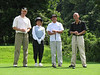 Brian, caddy, Gilbert and Chee Cheong