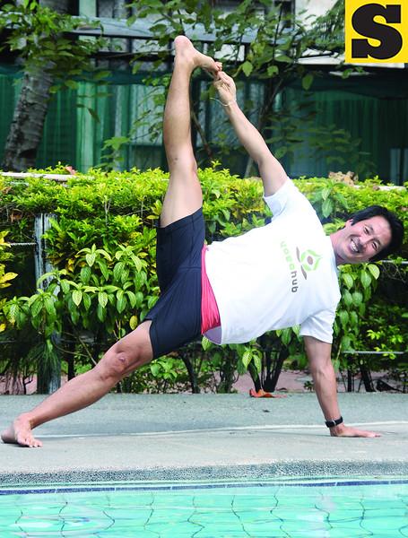 The travelling yogi