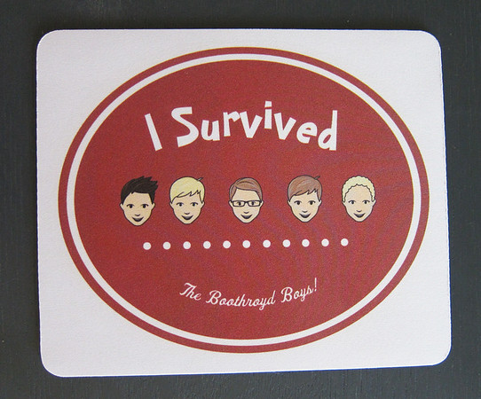 And one more extra special gift for that extra special teacher that made it through all of our boys and put up with our crazy family.  She's awesome!  The boys all loved being in her class.  Fyi- She's the only survivor so far.<br /> I made this mouse pad at vistaprint.
