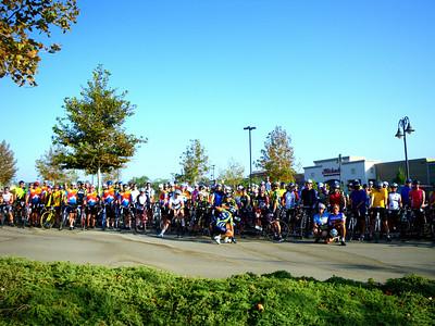 Three Club 36 Mile Advanced Level Ride, Corona-Norco CA September 18, 2009