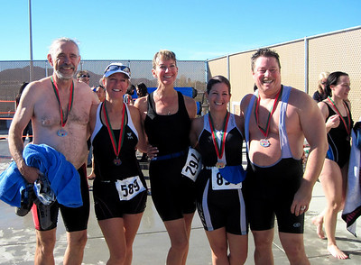 Tinsel Triathlon sponsored by Central County United Way, Hemet CA December 12, 2010