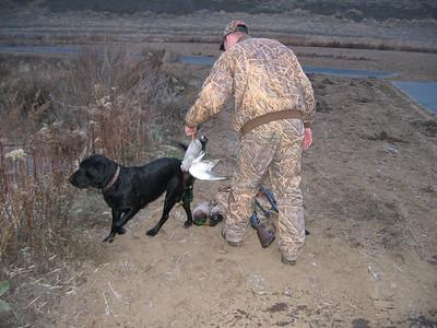 Touchet duck hunt Dec. 19, 2006