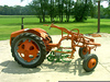 Allis Chalmers G with two Planet J:r. planters.