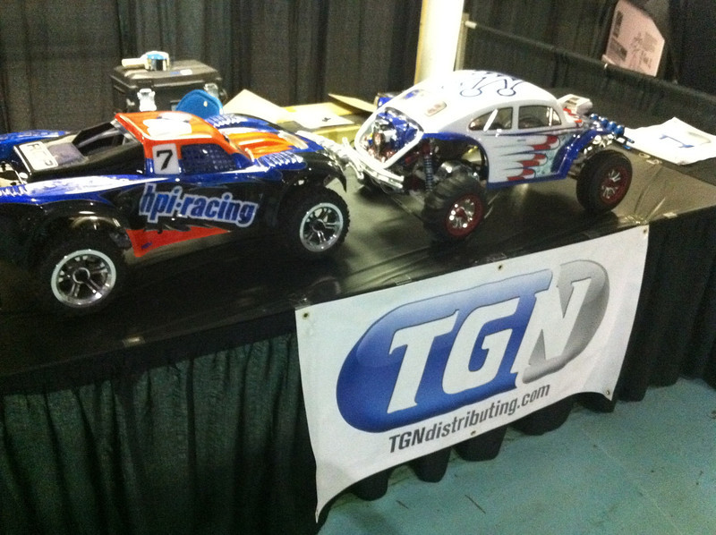 The TGN show rigs at Chicago RCX 2011