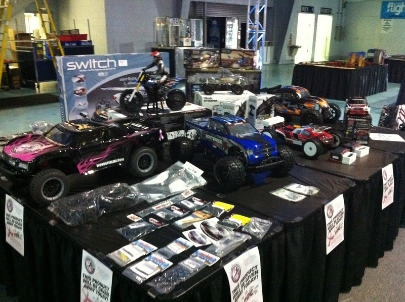World Motor Sports Breast Cancer Foundation drawing prizes.