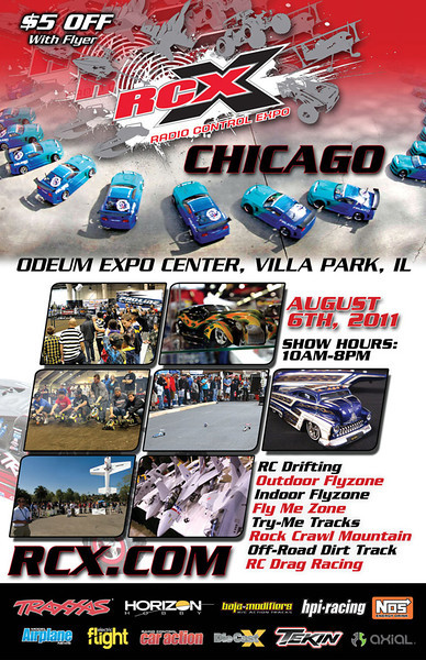 RCX Chicago 2011 Event Coverage Live Updates with images and video of the day.