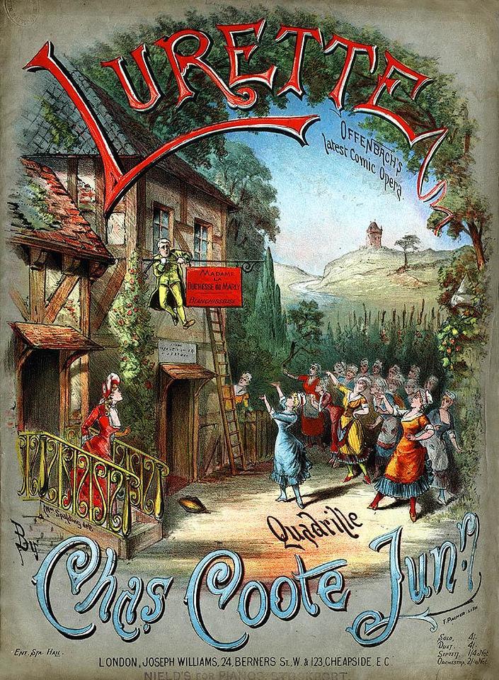 'LURETTE', ca. 1890. Great Britain.