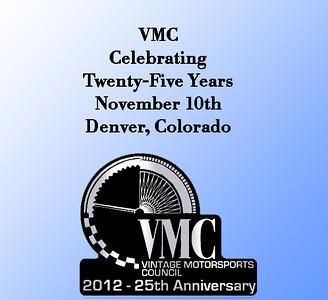 VMC 25th Anniversary - 2012