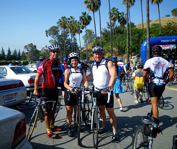 City of Angels 55 Mile Charity Cycling Event for Children's Hospital, Sponsorship by VW and LAPD, Los Angeles CA April 25, 2010