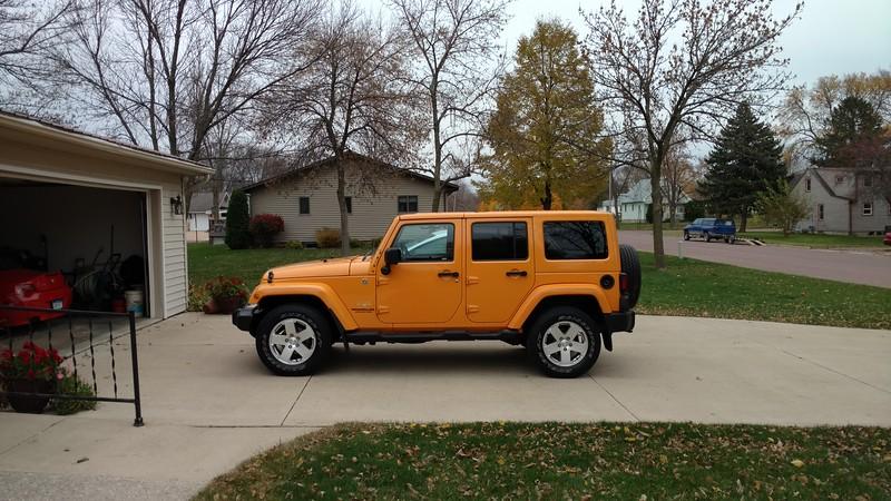 2012 Jeep Wrangler Umlimited Sahara