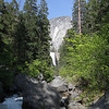 Vernal Falls in the distance