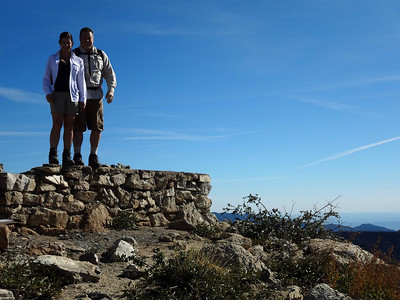 Vetter Mountain Fire Tower Hike, Angeles Crest CA Hwy 2 February 4, 2012