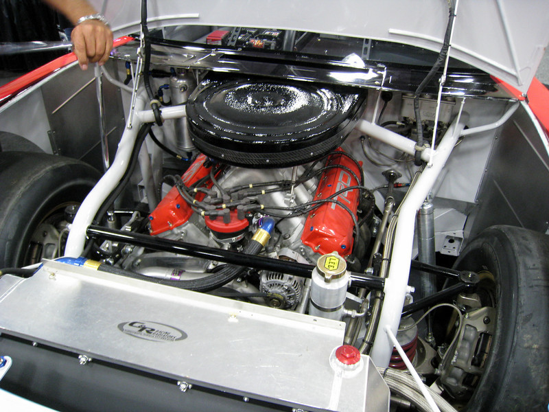 Joey Logano's Engine