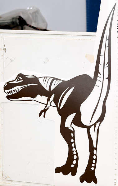 Small T-rex dinosaur design I did for my godson. The design is about 17 inches tall.
