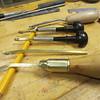 Rosewood engraving handles.