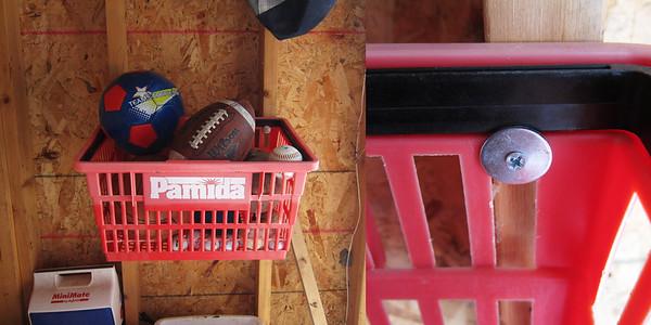 Grocery Basket Storage