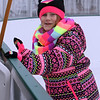 Winter Ice at The Point. New rink behind Tavern in the Square opens for ice skating and Community Appreciation Day. Savannah Liles, 9, of Littleton, tries out the new rink. (SUN/Julia Malakie)