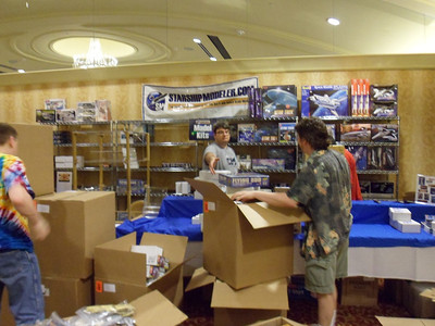 SSM setting up shop