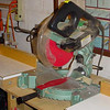 "Chop saw - Hitachi compound miter saw w/ home-made table - great for cross-cuts of 6-7"", but for wider cuts need to TS sled - Dave"
