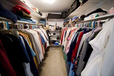 Original closet (10 ft x 6 ft).