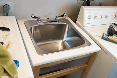 Laundry Vanity & Sink