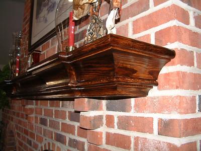 Mantel Shelf: Nov 2004