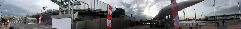 USS Intrepid & Pier 86