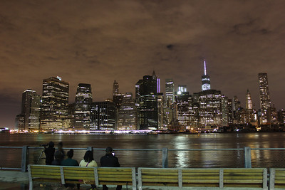 View of Lower Manhattan from Brooklyn.
